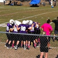 Photo taken at Highlander Field -  Home of the Clermont Knights by Robin T. on 10/12/2013