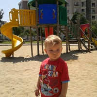 Photo taken at girne parkı by Ayhan Y. on 7/10/2014