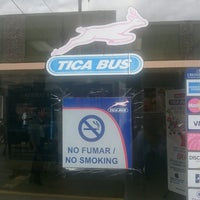 Photo taken at Tica Bus by Jorge B. on 1/14/2017