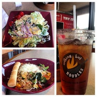 Photo taken at Nothing But Noodles by Becky R. on 2/22/2013