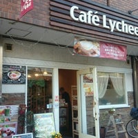 Photo taken at Cafe Lychee by あまのとら on 4/25/2015