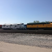Photo taken at NS Ashland Ave. Yard by Chris B. on 5/23/2014