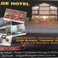 Photo taken at Bilge Hotel Restaurant by Mehmet D. on 6/12/2014