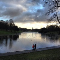 Photo taken at Sefton Park by Clare B. on 1/1/2013