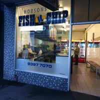 Photo taken at Hobson's Bay Fish & Chips by James C. on 12/9/2013