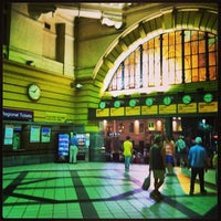 Photo taken at Flinders Street Station by James C. on 2/26/2013