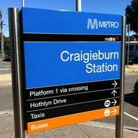 Photo taken at Craigieburn Station by James C. on 11/10/2012