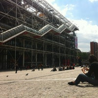 Photo taken at Place Georges Pompidou by Juanlu F. on 5/27/2013