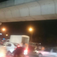 Photo taken at Uppal Ring Road by Kasam R. on 5/14/2016