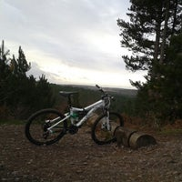 Photo taken at Follow The Dog MTB Route by Ken H. on 12/5/2013