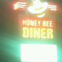 Photo taken at Honey Bee Diner by Sayoko H. on 3/28/2013