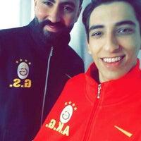 Photo taken at Galatasaray Futbol Okulu by Ahmet Kadir G. on 11/21/2015