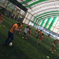 Photo taken at Galatasaray Futbol Okulu by Ahmet Kadir G. on 7/31/2016