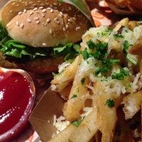 Photo taken at Super Duper Burger by Benedict C. on 2/4/2013