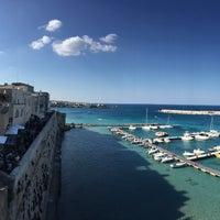 Photo taken at Porto di Otranto by Dario T. on 4/23/2017