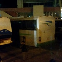 Photo taken at Terminal de Buses Oruro by Sahil A. on 7/27/2014