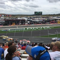Photo taken at Charlotte Motor Speedway by Pete K. on 10/8/2017