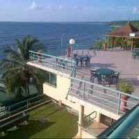Photo taken at Playa Del Este Sanctuary Private Resort by Tigrëss A. on 9/29/2012