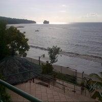 Photo taken at Playa Del Este Sanctuary Private Resort by Tigrëss A. on 10/5/2012