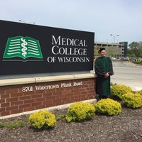 Photo taken at Medical College of Wisconsin by elizabert w. on 5/20/2016