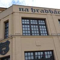 Photo taken at Restaurace Na Hradbách by Michal K. on 8/31/2014