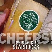 Photo taken at Starbucks by Stone I. on 1/13/2013