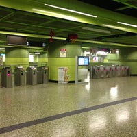 Photo taken at MTR Wan Chai Station by Stone I. on 2/13/2013