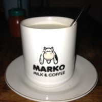 Photo taken at Marko Milk and Coffee by Gita P. on 8/15/2013