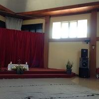 Photo taken at Aula Karya Kasih Tegal by Franz K. on 4/17/2013