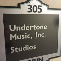 Photo taken at Undertone Music by Glen A. on 5/16/2014