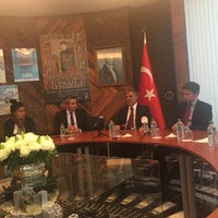 Photo taken at Ambassade de Turquie by Sevcan C. on 9/21/2016