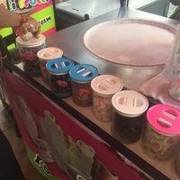 "Photo taken at ""Fried"" Fresh Ice Cream by Vanessa P. on 7/15/2016"