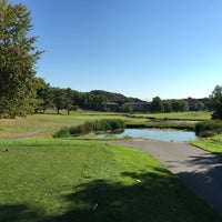 Photo taken at Newton Commonwealth Golf Course by Keith B. on 9/27/2014