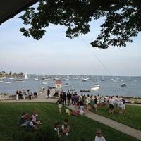 Photo taken at Larchmont Yacht Club by Deborah C. on 6/22/2013