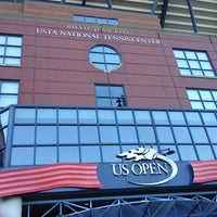 Photo taken at President's Gate - US Open by Deborah C. on 8/25/2014