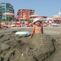 Photo taken at Club Bayar Beach Hotel by Ilya K. on 7/13/2014