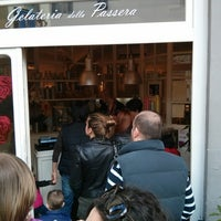 Photo taken at Gelateria della Passera by Mike S. on 4/6/2013