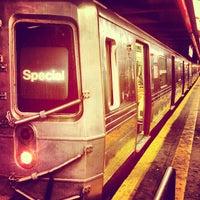 Photo taken at MTA Subway - F Train by Nick G. on 4/30/2013