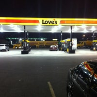 Photo taken at Love's Travel Stop by Andrew V. on 11/6/2012