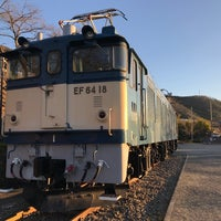 Photo taken at 電気機関車EF64 18 by Takahiro Y. on 1/4/2018