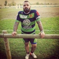 Photo taken at Cus Verona Rugby Club House by Enrico T. on 11/17/2013