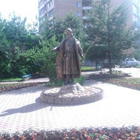 Photo taken at Памятник Селятино by Максим Е. on 6/14/2014