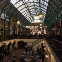 Photo taken at Covent Garden by Ghayda'a ♉. on 1/18/2018
