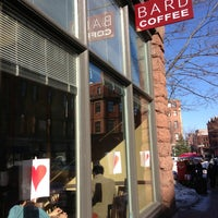 Photo taken at Bard Coffee by Nathan O. on 2/14/2013