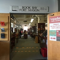 Photo taken at Book Bay Fort Mason by Carl B. on 12/23/2014