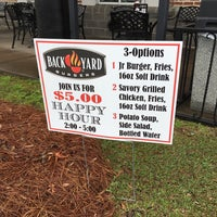 Foto tomada en Backyard Burgers por Carl B. el 3/12/2016