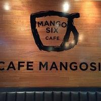 Photo taken at Cafe Mangosix by Carl B. on 5/20/2015