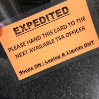 Photo taken at TSA Security by Carl B. on 10/11/2016