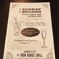 Photo taken at Iron Horse Grill by Carl B. on 2/5/2017