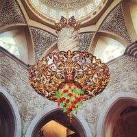 Photo taken at Sheikh Zayed Grand Mosque by Dack J. on 3/16/2013
